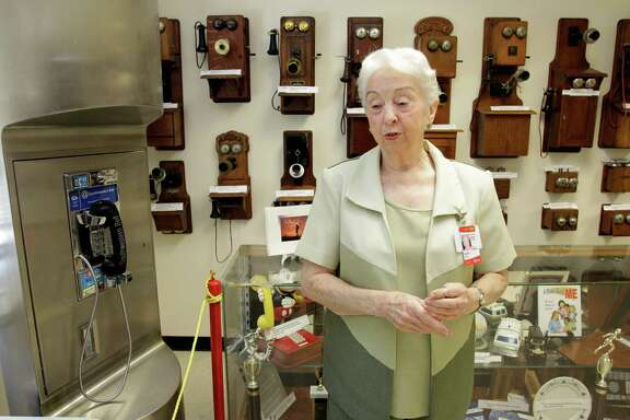 "Oleta Porter is curator of the Doc Porter Museum of Telephone History. The museum is named after her late husband, Clyde ""Doc"" Porter, who is credited with expanding the facility, founded in 1966, to its present size."