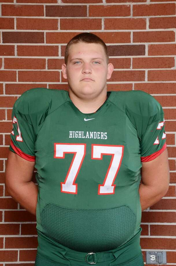 The Woodlands offensive lineman Jonathan Huckins Not pictured Westfield offensive lineman Adrian Parker Klein Collins offensive lineman Tyler Tezeno