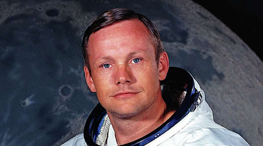 Neil Armstrong, the first man to walk on the moon, died at 82.  Photo: . / NASA