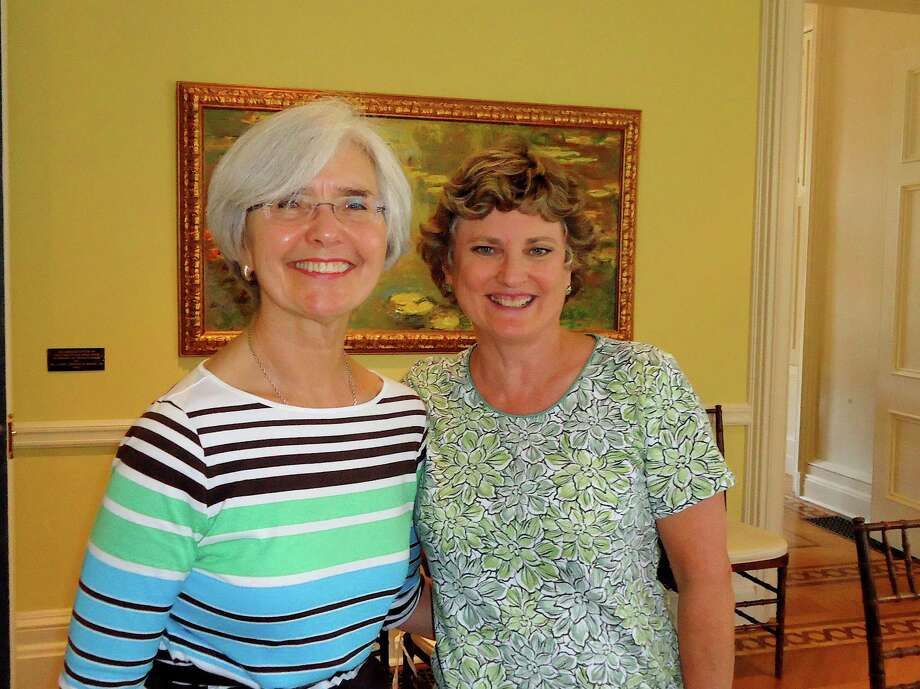 Sally Schenk, co-chairwoman of the Family ReEntry benefit jazz concert, and Mary Waldron are among many committee members planning the New Orleans-style extravaganza. Photo: Contributed