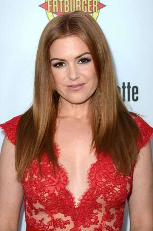Actress Isla Fisher arrives at the premiere of RADiUS-TWC's 'Bachelorette' at ArcLight Cinemas on August 23, 2012 in Hollywood, California.  (Frazer Harrison / Getty Images)