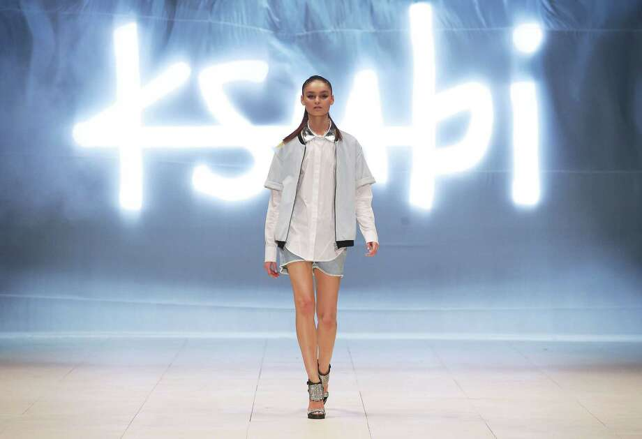 A model showcases designs by Ksubi on the catwalk. Photo: Matt King, Getty Images / 2012 Getty Images