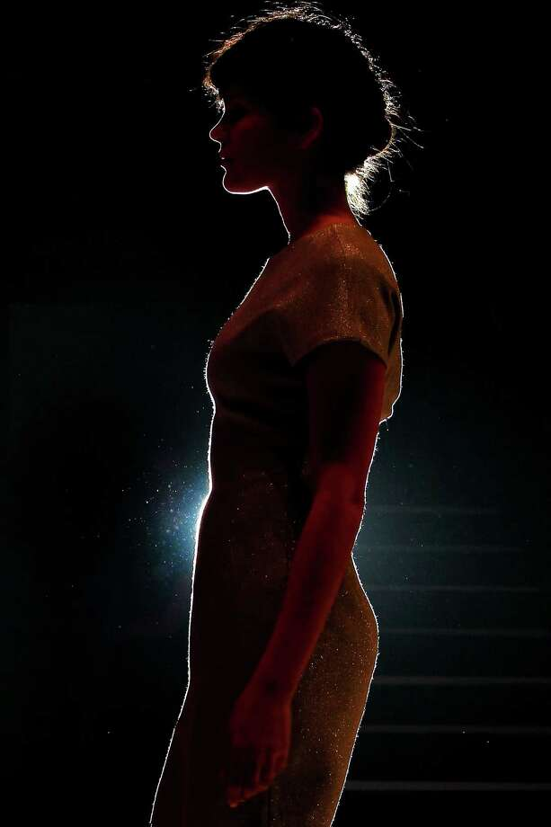 A model showcases designs by Whitney Eve on the catwalk. Photo: Graham Denholm, Getty Images / 2012 Getty Images