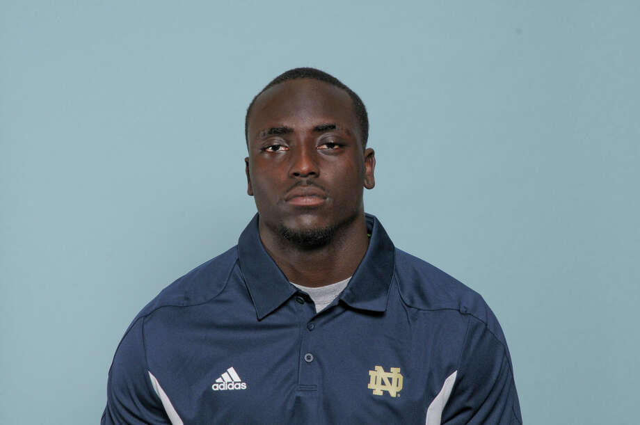 Notre Dame running back Cierre Wood Photo: Not Available
