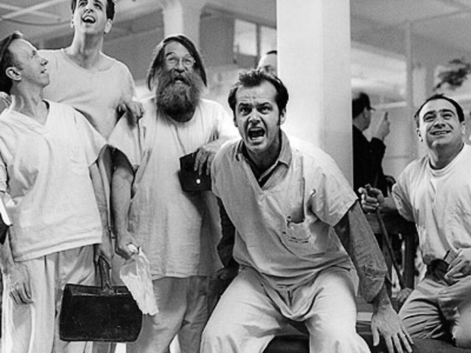 'One Flew Over the Cuckoo's Nest,' based on a book by Ken Keysey, won the Oscar for Best Picture in 1975.