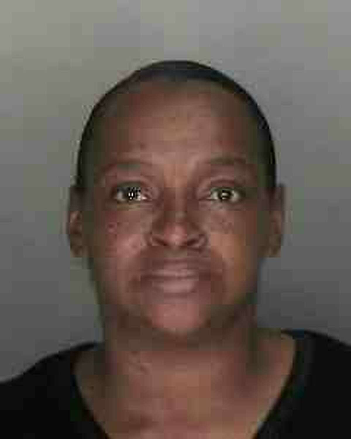 Jacqueline M. Smalls, 49, of Van Vranken Avenue, Schenectady was arrested Monday, Aug. 27, 2012 after allegedly stabbing her boyfriend, Adrian King, 51, to death. Smalls was charged with first-degree manslaughter. (Schenectady Police Department)
