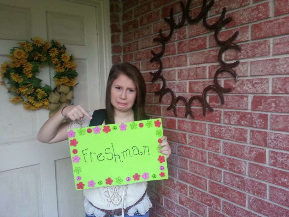"Back-to-School: ""Tannah Husband's first day as a freshman at Liberty High School.""
