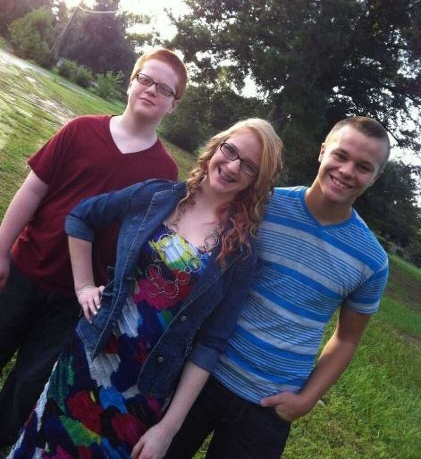 "Back-to-school: ""Hunter, Kelcie and Ryan - Silsbee ISD"" Photo submitted by: Melanie Wood Photo: BE"