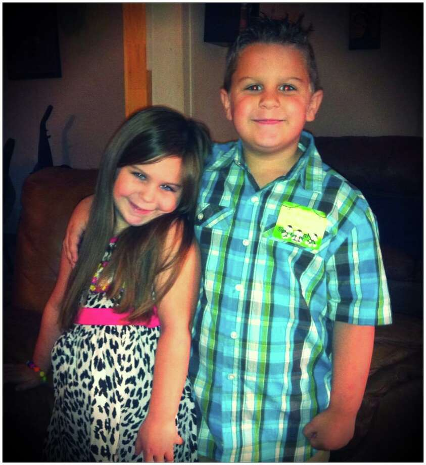 Back to School: Jolee and Jay are ready to show kindergarten what's up. Photo submitted by Ashlee V. Photo: Provided