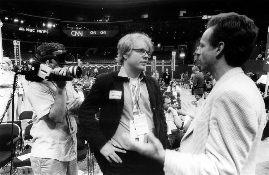 "Both the Democratic and Republican conventions get some play from Philip Seymour Hoffman in ""The Party's Over / Last Party 2000,"" a documentary in which he interacts with the crowds, protesters and police on the streets outside the events."