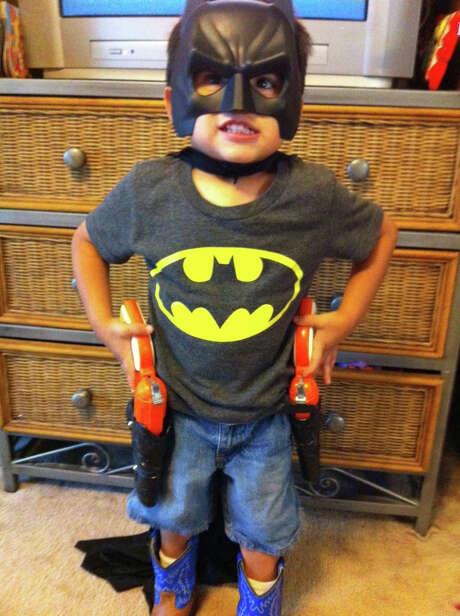Cowboy Batman Photo: Courtesy