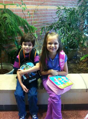 Back-to-school: James & Alexandra Turner, Dishman Elementary, BISD.  Photo provided by: Fred Turner Photo: Provided