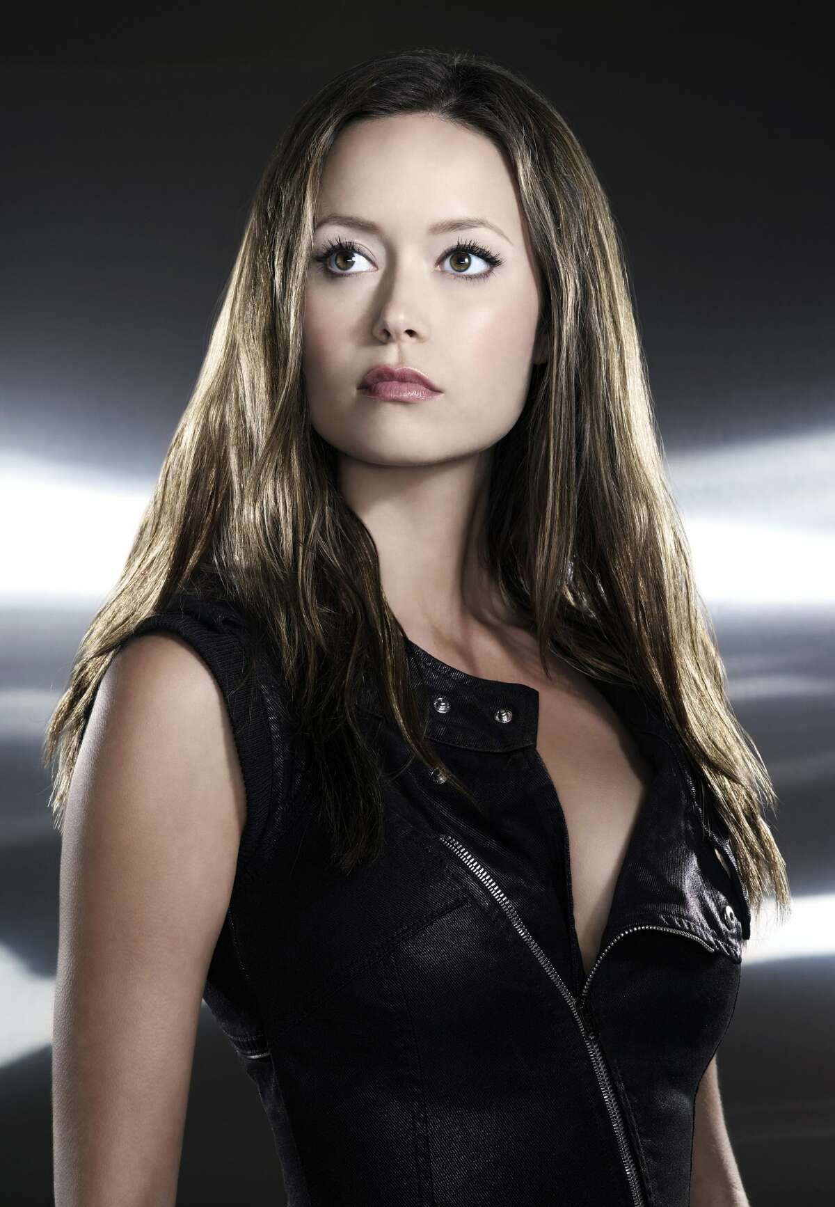 Summer Glau plays herself on 'The Big Bang Theory' (CBS)