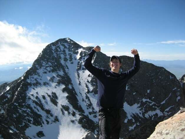 The Pitkin County Sheriff's Office in Colorado confirmed Rob Jansen, 24, of New Canaan, was killed in a rock slide Aug. 25, 2012. This photo was taken from Jansen's Facebook page. Photo: Contributed