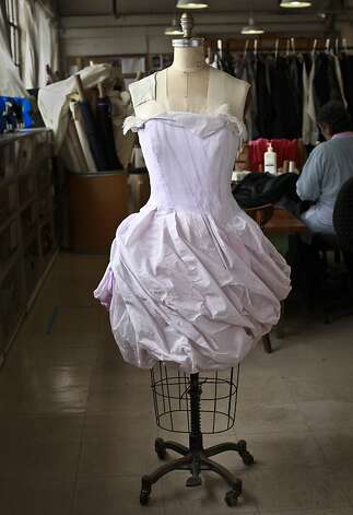 "Christian Lacroix, the great French couturier, is busy at work on ballet, opera and theater projects, including the San Francisco Opera's production of ""The Capulets and the Montagues,"" which features 27 lavish courtesan dresses, the sartorial stars of the show. Photo: Russell Yip, The Chronicle"