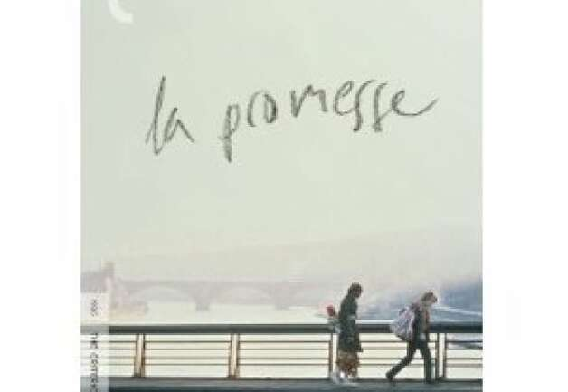 dvd cover LA PROMESSE Photo: Criterion Collection