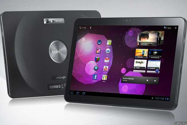 The Samsung Galaxy Tab 10.1 was banned in June of this year by U.S. District Judge Lucy Koh. Photo: Samsung Electronics Co.