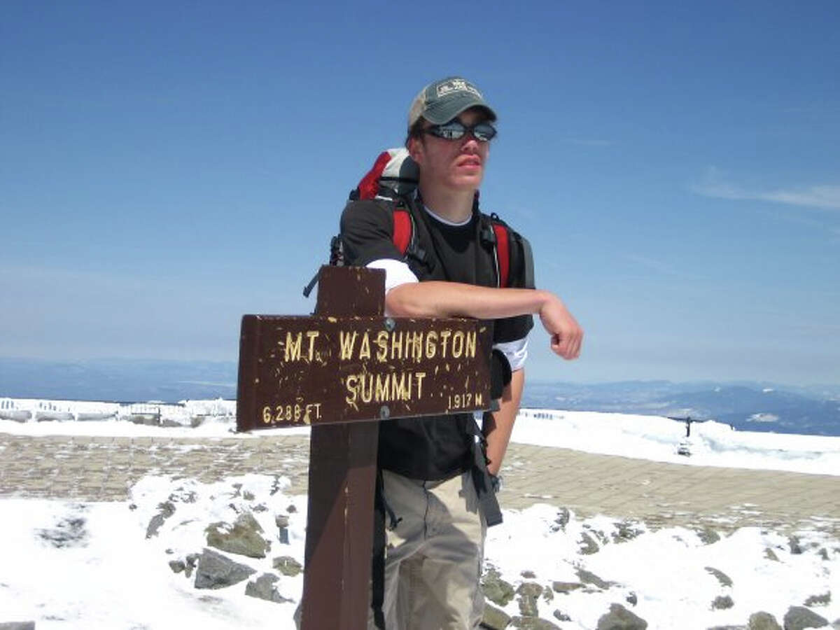 The Pitkin County Sheriffís Office in Colorado confirmed that Rob Jansen, 24, of New Canaan was killed in a rock slide Aug. 25, 2012. The photo above was taken from Mr. Jansen's Facebook page.