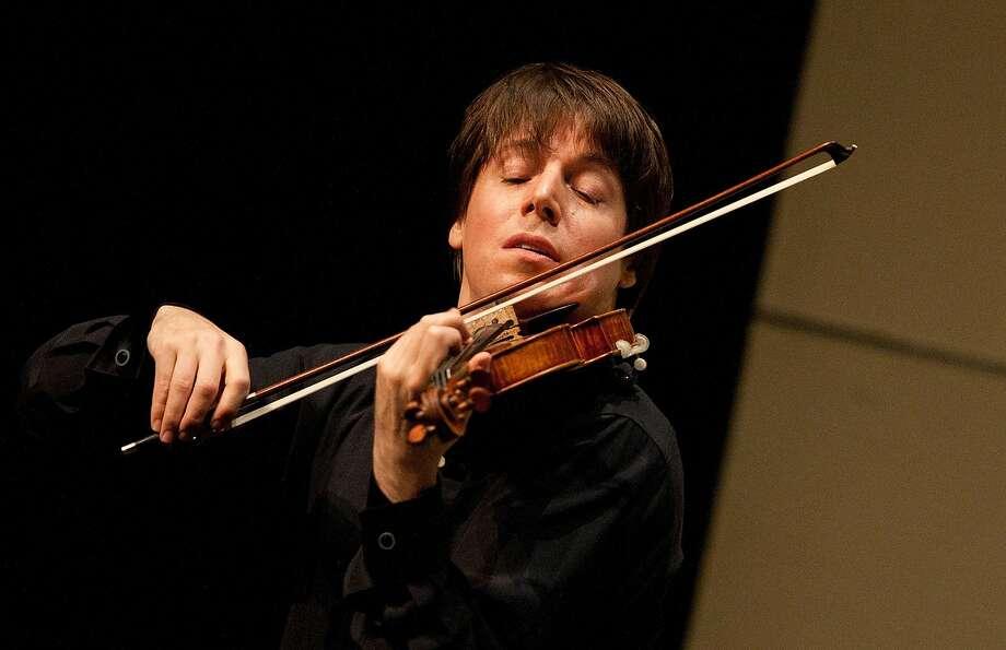Joshua Bell performs at the San Francisco Symphony's Opening Gala Sept. 19 at Davies Symphony Hall. Photo: Eric Kabik 2010