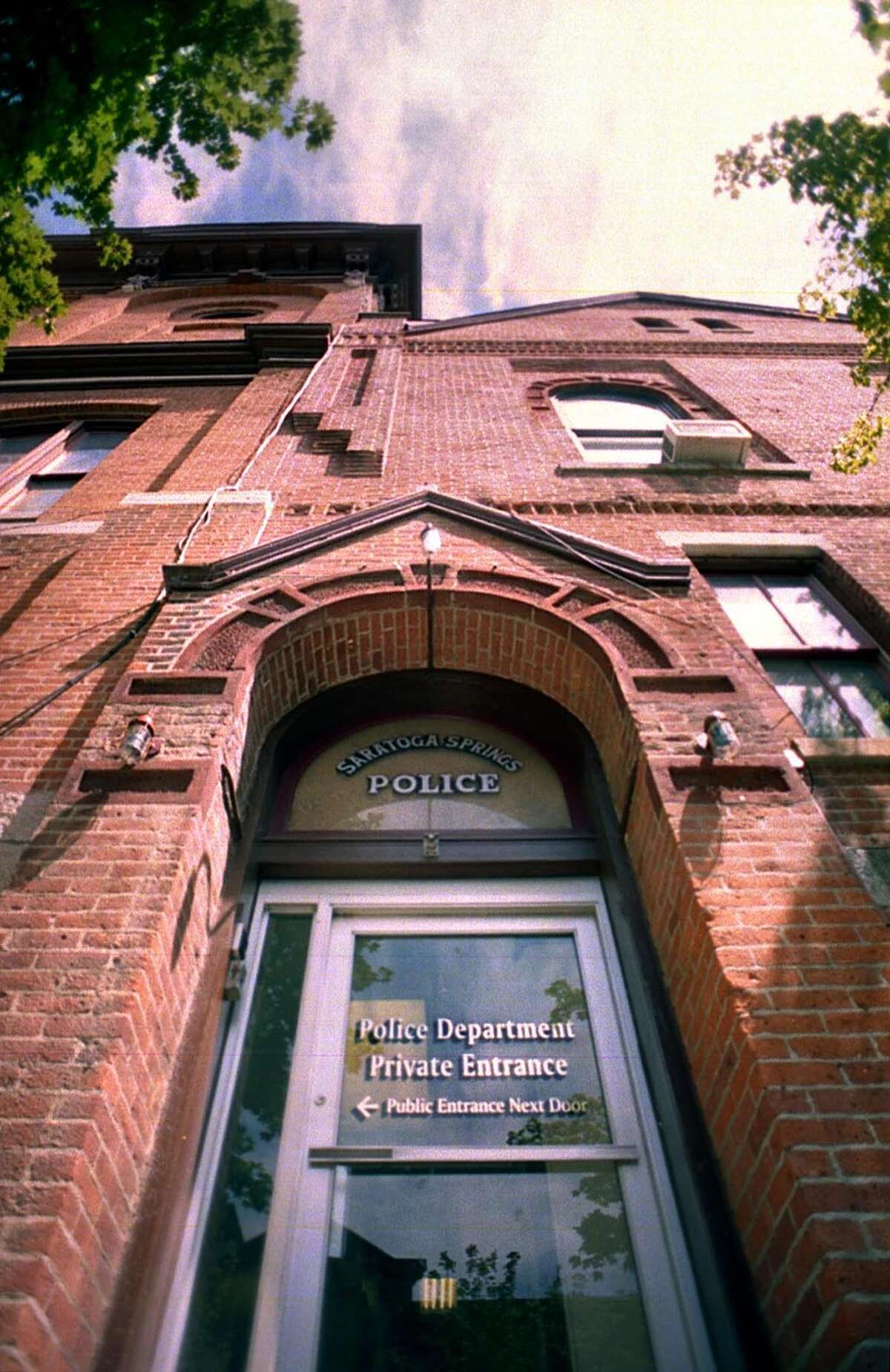 The Saratoga Springs police station in Saratoga Springs. (Times Union archive)