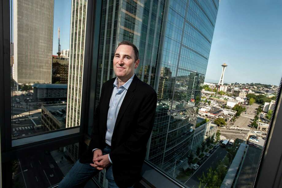 """Andrew Jassy, head of Seattle-based Amazon Web Services, says, """"We are on a shift that is as momentous and as fundamental as the shift to the electrical grid."""" Photo: STUART ISETT / NYTNS"""