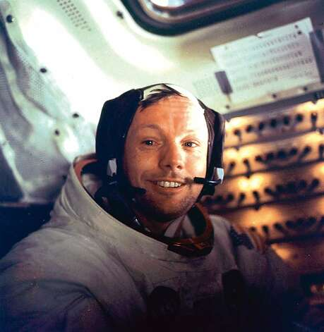 "Apollo 11 space mission US astronaut Neil Armstrong is seen smiling at the camera aboard the lunar module ""Eagle"" on July 21, 1969 after spending more than 2½ hours on the lunar surface. US astronauts Buzz Aldrin and Neil Armstrong were the first men in history to set foot on the moon's surface. After about seven hours of rest aboard ""Eagle"", they were awakened by Houston to prepare for the return flight and rejoin Michael Collins aboard ""Columbia"" in lunar orbit. Armstrong, the first person to set foot on the moon, has died, US media reported on August 22, 2012. He was 82. Armstrong underwent cardiac bypass surgery, earlier this month after doctors found blockages in his coronary arteries. He and fellow Apollo 11 astronaut Buzz Aldrin landed on the moon on July 20, 1969, before the eyes of hundreds of millions of awed television viewers worldwide. = RESTRICTED TO EDITORIAL USE - MANDATORY CREDIT ""AFP PHOTO / NASA"" - NO MARKETING NO ADVERTISING CAMPAIGNS - DISTRIBUTED AS A SERVICE TO CLIENTS =-/AFP/GettyImages Photo: -, AFP/Getty Images"
