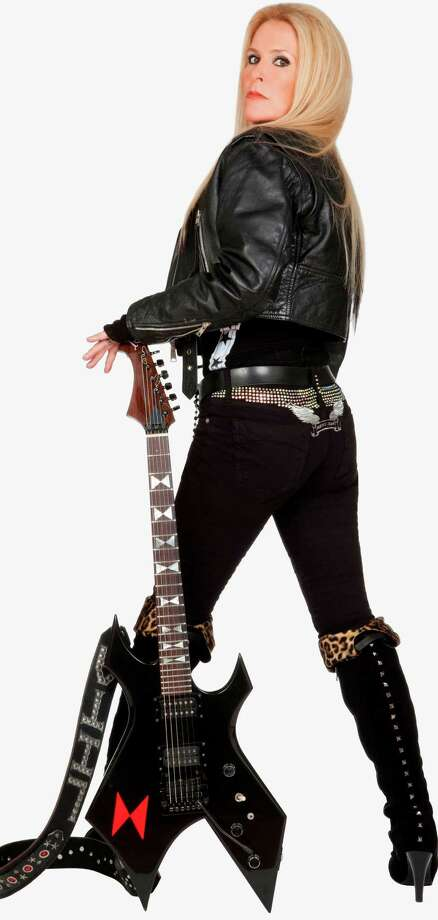 Hard-rock guitarist Lita Ford, a former member  of The Runaways Photo: Courtesy Freeman Promotions