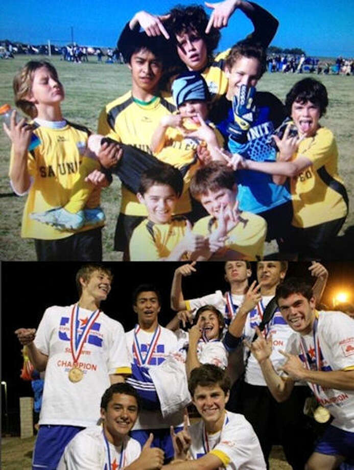 Then and Now Alamo Heights Boys Soccer State Champs