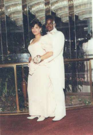 This photo of my husband, Johnnie Griffin, and me, Tamara Griffin was taken in Central Islip, NY at Johnnie's High School Senior Prom in 1990. -- Tamara Griffin Photo: Tamara Griffin, Reader Submissio
