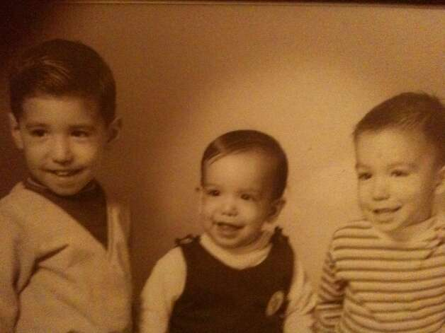 This picture of my three sons was taken in late October 1970 at Dillard's Studio. They were at that time from left to right, Michael, 3, Robert, 1, and Dan, 2. -- Esther O. Lozano Photo: Esther Lozano, Reader Submission