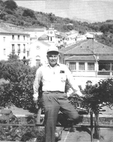 In 1943, Al Dietrick was 22 years old, a Tech Sgt. in the 36th Infantry Division of the Texas National Guard and part of the Allied invasion of Italy. In the village of Altavilla Silentina, he was photographed by a buddy. While on a battlefield tour of Italy back in 1994, Dietrick showed the original photo to the tour guide, who recognized the spot where it had been taken.  Those little Italian villages don t change much,  says Dietrick, now 90.  You can see some of the same buildings in both photos. Photo: Al Dietrick, Reader Submission