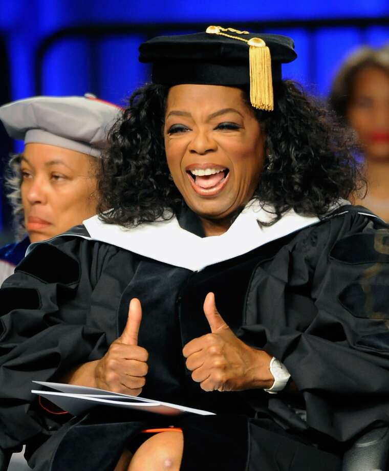 Oprah Winfrey is number 1! She earned $165 million over the past year.  (Rick Diamond / Getty Images)