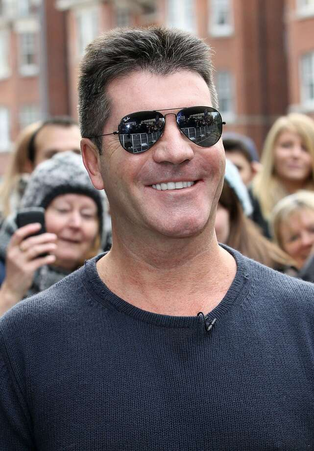 "10. ""X Factor"" judge Simon Cowell, 90 million. (Danny Martindale / Getty Images)"