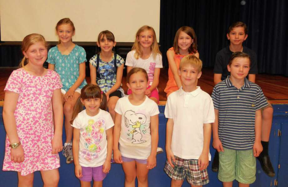 Riverfield Elementary School students who participated at the school level in this yearís National PTA Reflections program include, front row from left to right, Sierra Salts, Sofia Dillabough, Elena Ohe, Colin Reilly and Vincent Ohe; and back row from left to right, Maddy Crawford, Amanda Dillabough, Natalie Reilly, Ellen Downard and Francis Ohe. Photo: Contributed Photo