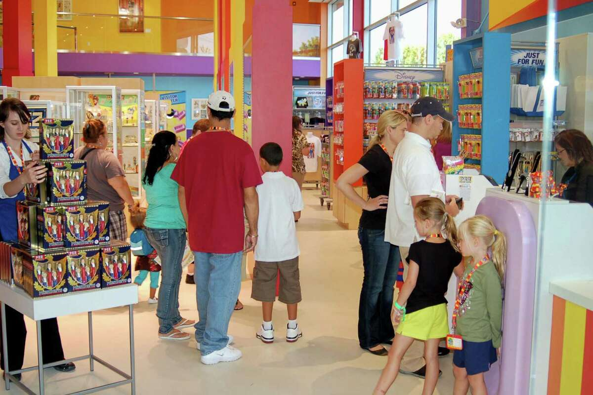 Next: PEZ Visitor Center, Orange Next up, head a little north to the PEZ Visitor Center at PEZ Candy in Orange, for a look at how PEZ is made. You also get a chance to grab some sugary goodness for the rest of the road trip. You're going to need your strength, right?