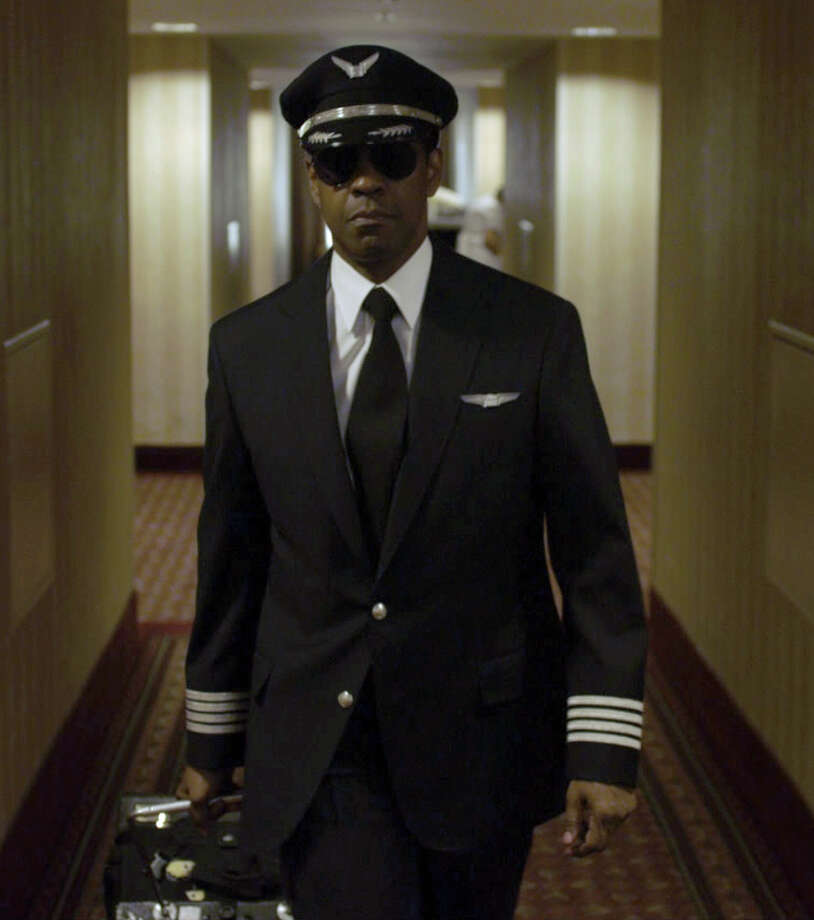 "Denzel Washington is Whip Whitaker in ""Flight."" Photo: Paramount Pictures"