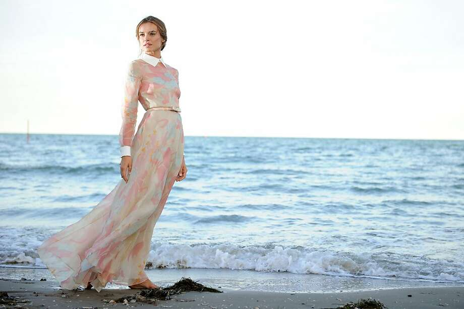 The host of the 69th Venice film festival, Polish-born actress and model Kasia Smutniak poses on the beach on the eve of the opening of the festival on August 28, 2012 in Venice. The 69th Venice film festival, the cinema mostra, will run from August 29 to September 8, and will feature 51 world premieres.  AFP PHOTO / TIZIANA FABITIZIANA FABI/AFP/GettyImages Photo: Tiziana Fabi, AFP/Getty Images