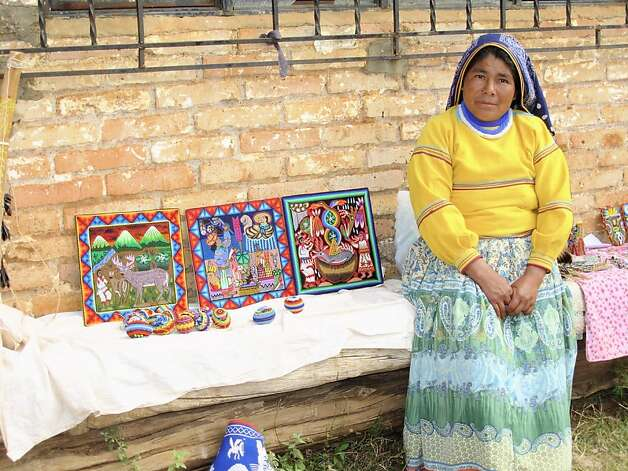 Huichol bead and yarn work is among Mexico's most precious folk arts, and Puerto Vallarta is the easiest place to find a wide array of masks, figurines and bowls with swirling patterns made from thousand of tiny colored beads or strands of yarn. Photo: Maribeth Mellin