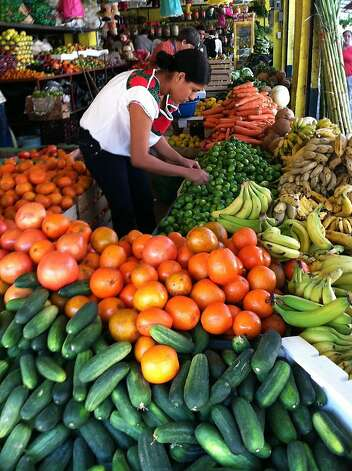Market shopping in Puerto Vallarta. In addition to robust markets, tourists will discover plenty of vibrant restaurants. Photo: Maribeth Mellin