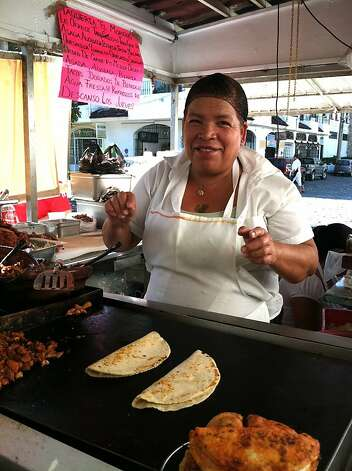 The Taco and More Tour from Vallarta Eats gives tourists the chance to dine on some of the street food they might not know to try otherwise. Photo: Maribeth Mellin
