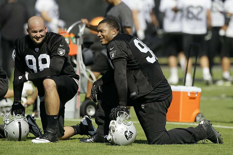 Jamie Cumbie could make the Raiders' roster two years after he had legal troubles at Clemson. Photo: Jeff Chiu, Associated Press