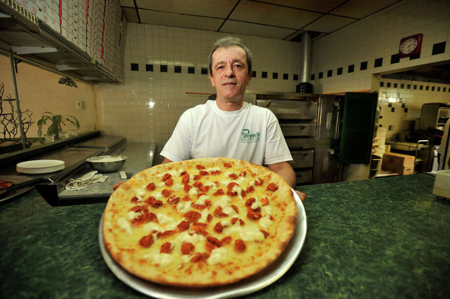 Kenny Alka is the owner of Portobello Restaurant & Pizza in Brookfield. The restaurant is celebrating its 15-year anniversary. Photographed on Tuesday, Aug. 28, 2012. Photo: Jason Rearick / The News-Times