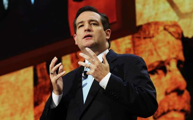 "U.S, Senate candidate Ted Cruz of Houston, in a speech heavy with tea party themes, implored Americans to demand: ""We want our country back."" Photo: Spencer Platt / 2012 Getty Images"