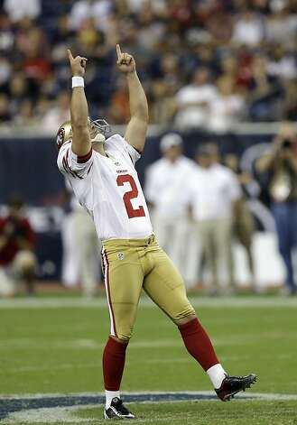 David Akers set an NFL record for field goals. Photo: David J. Phillip, Associated Press
