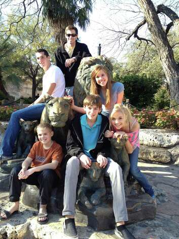 "The  ""Lyle"" Grandkids at the San Antonio Zoo in 2011.