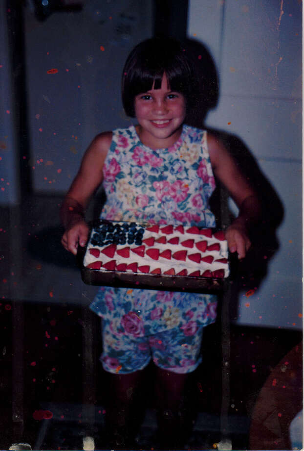 Then:Our daughter Tracy Bocquin on July 4, 1994 Photo: Karen Bocquin Reader Submission