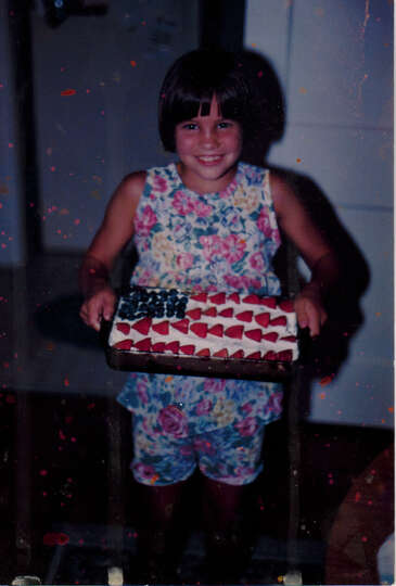 Our daughter Tracy Bocquin on July 4, 1994