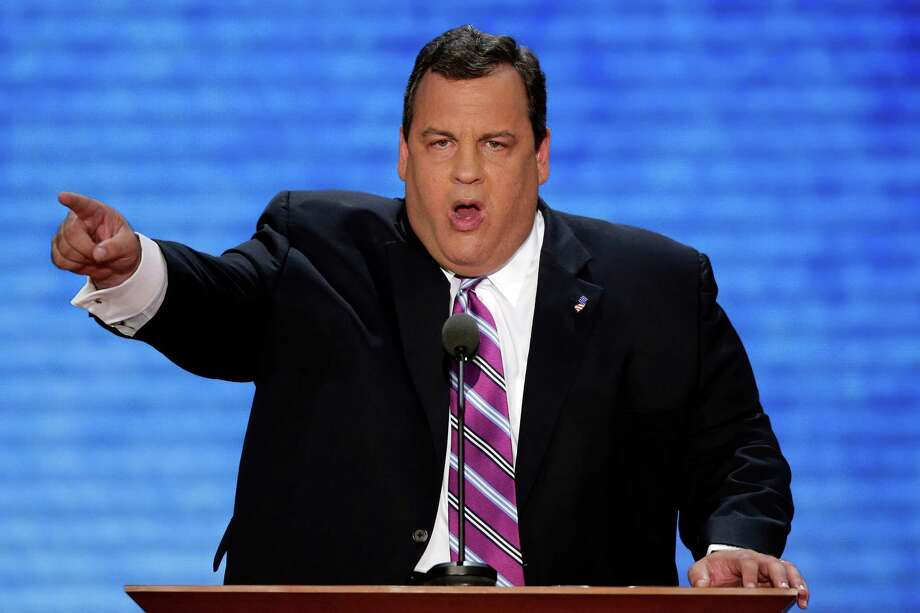 New Jersey Gov. Chris Christie's address to the Republican National Convention may very well have set the tone for the fall campaign.  (AP Photo/J. Scott Applewhite) Photo: J. Scott Applewhite, Associated Press / AP