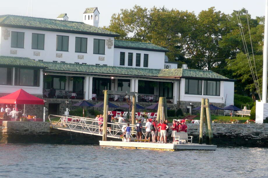The Indian Harbor Yacht Club on August 22, 2012. Photo: Picasa, Anne W. Semmes