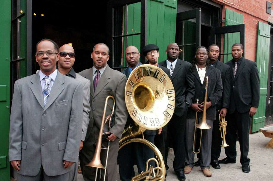 Rebirth Brass Band Photo: PEICONG LIU, Courtesy Photos / Jeffrey Dupuis Photography